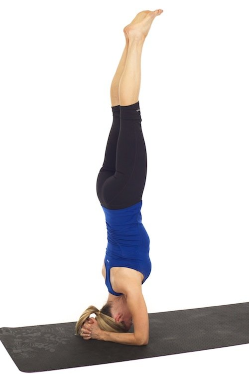 How to do a Headstand - Kristin McGee