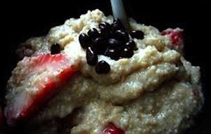 oatmeal with nibs