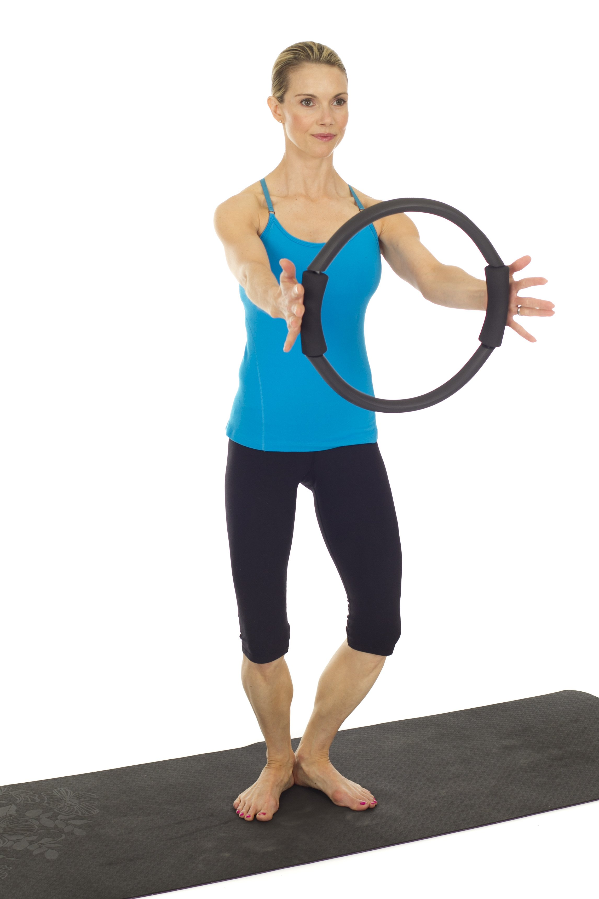 You don't need a magic circle for these moves you can use a yoga