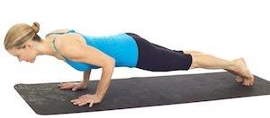 Pilates Push Up 2