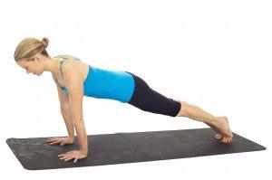 Pilates push up