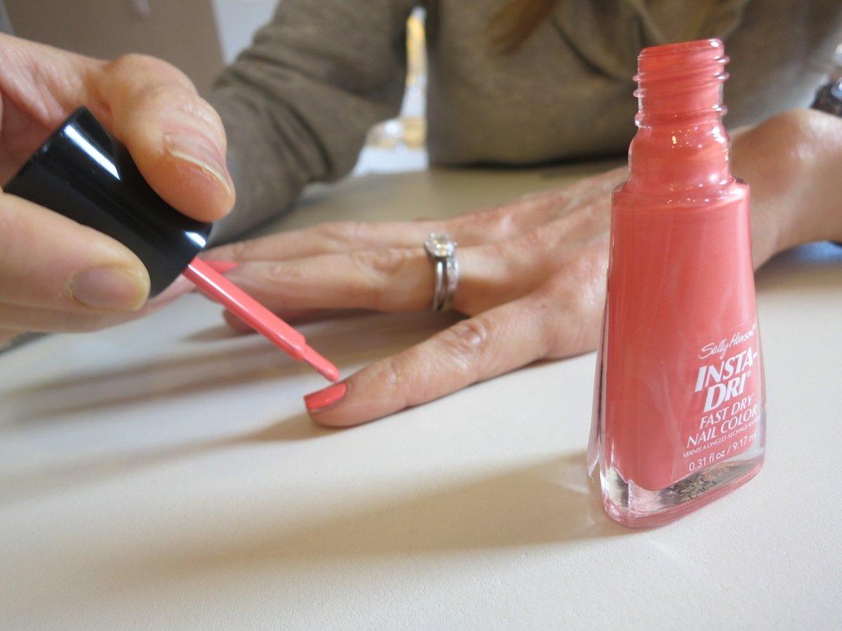 Sally Hansen I Heart Nail Art Contest-Color Blocking! - Kristin McGee