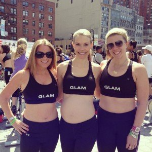 With Glam Girls Sports Bra Challenge
