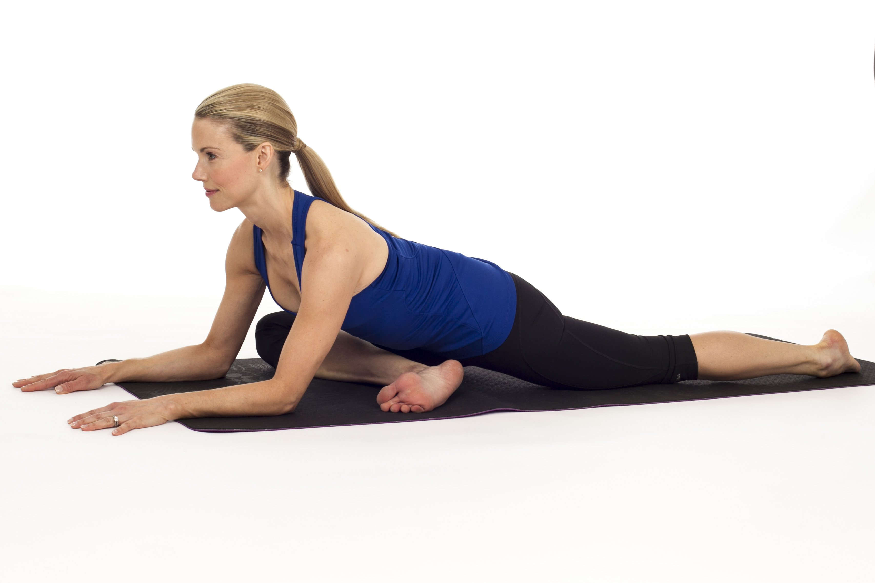 Road trip relief yoga poses to stretch out the kinks for Floor yoga stretches