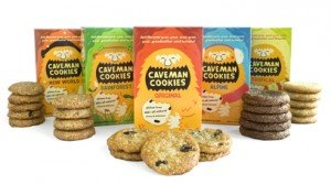 Caveman Cookies boxes