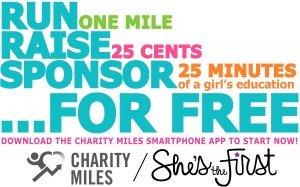 Charity Miles - rectangular