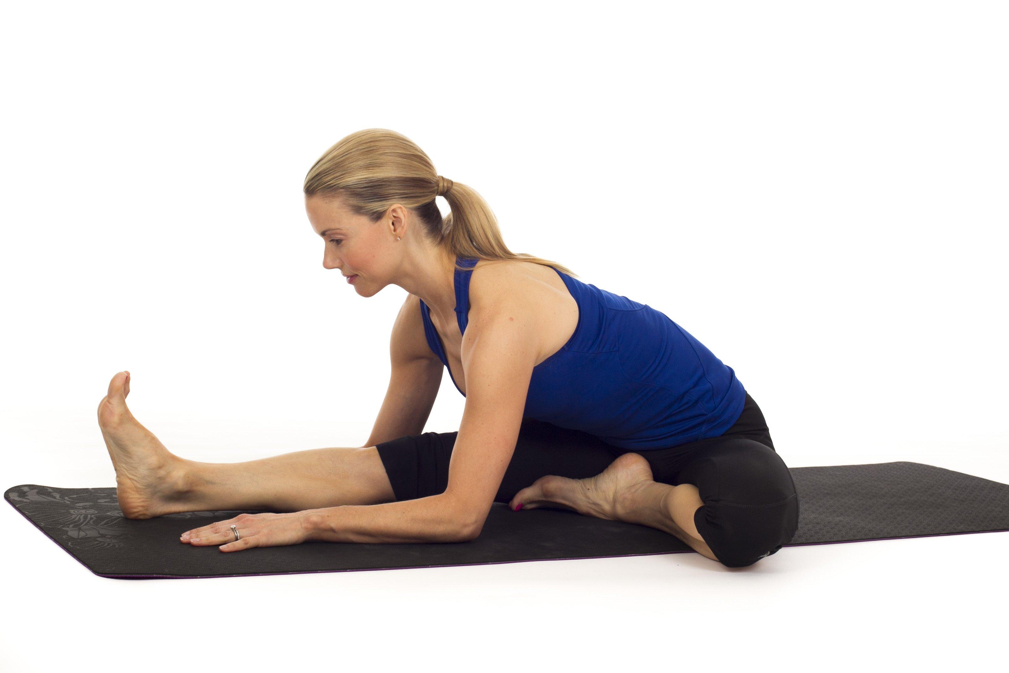 Janu Sirsasana 3 Yoga Moves for the E...