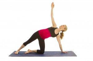 Prenatal Modified Side Plank