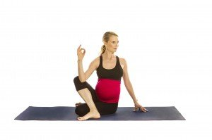 Prenatal Seated Twist