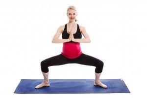 Prenatal Sumo Squat