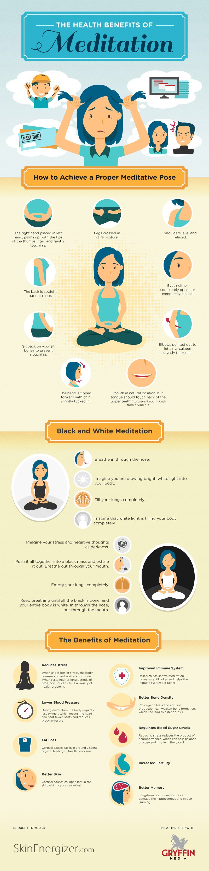 how meditation works and its benefits Learning how to meditate with a walking meditation is simple, and provides some of the relaxation benefits of exercise as well as the standard benefits of meditation they key to a walking meditation is not just the walking itself, of course, it's the frame of mind in which you walk.