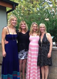 With Kara, Julia and My Mom