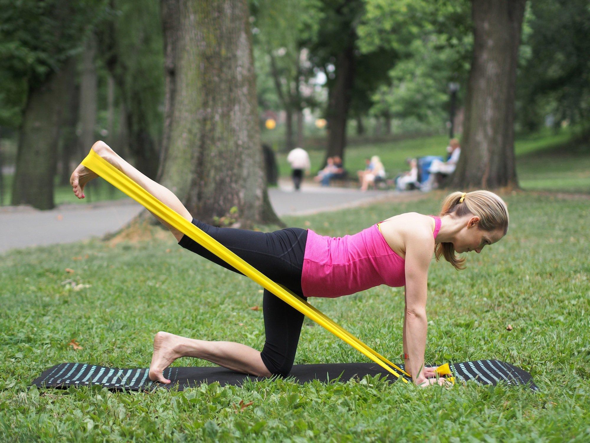 Theraband Workout Kristin Mcgee