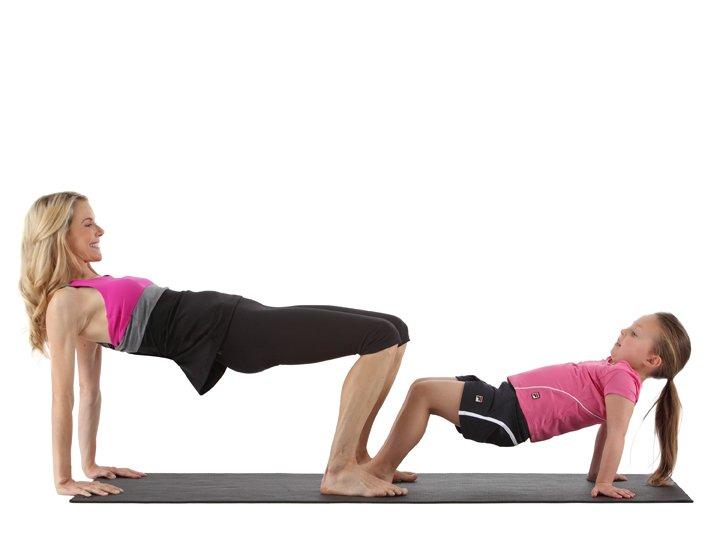 Yoga for kids kristin mcgee for Table yoga pose
