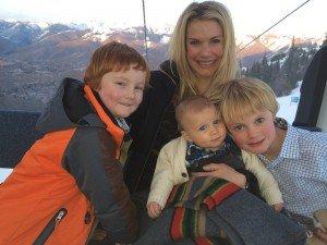 Nephews & Timothy & I on gondola