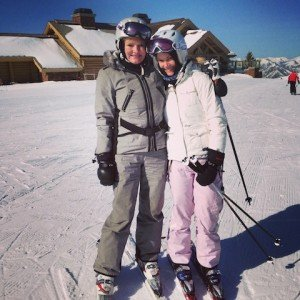 Mommy and Me on the Slopes