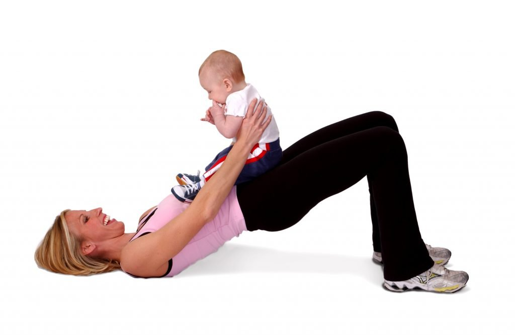 postpartum safely resuming your exercise routine one step