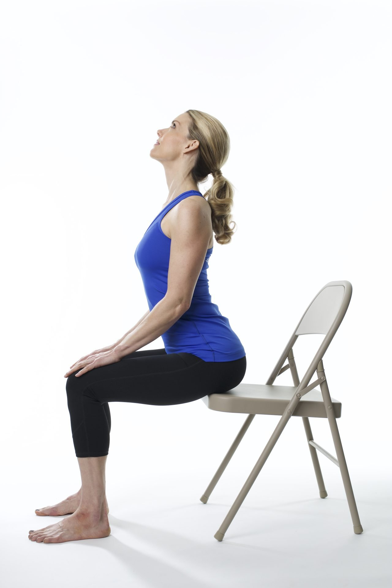 Chair Yoga Warm ups Poses to Get Your Blood Flowing