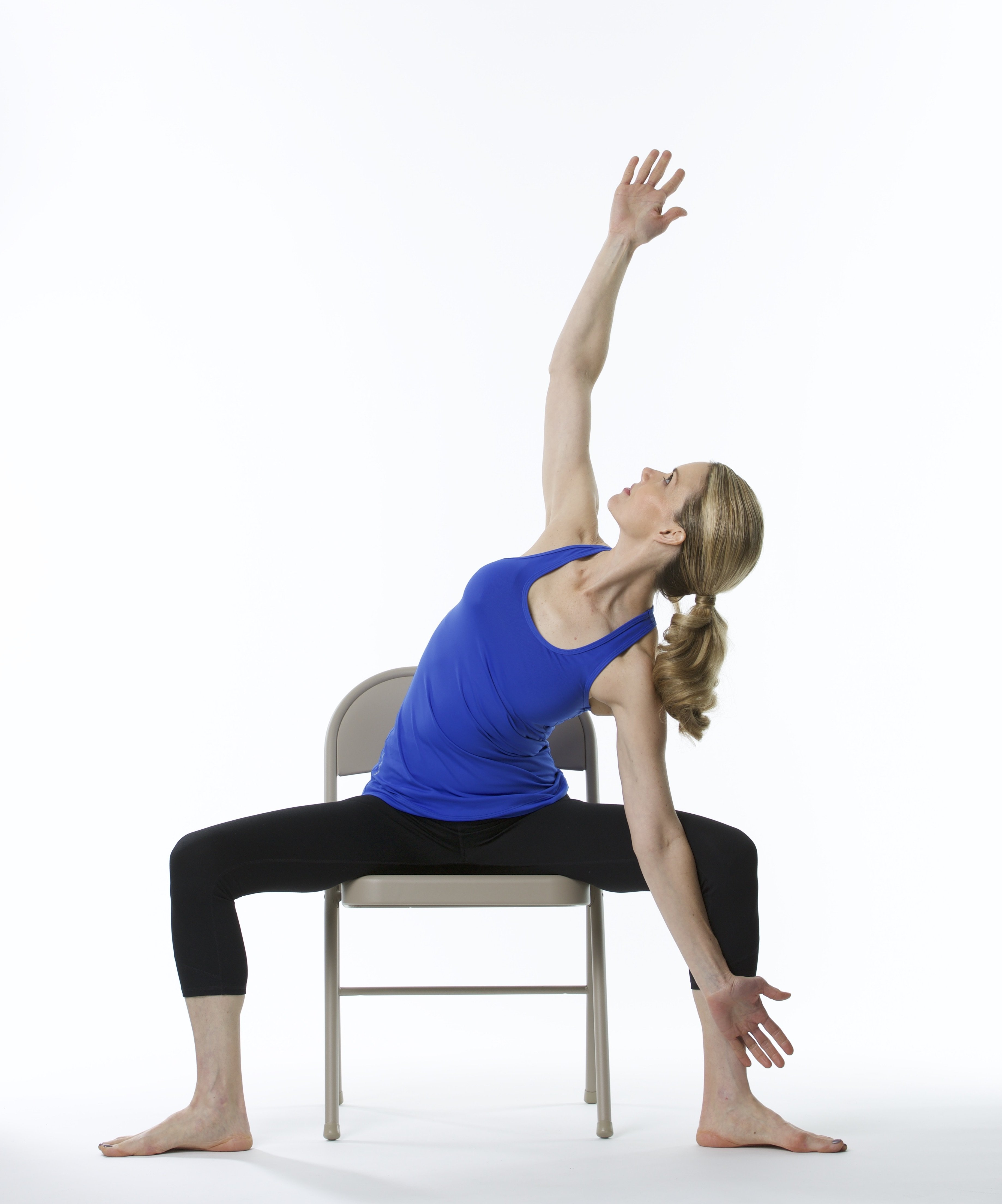 Get started with chair yoga practice yoga anywhere for Furniture yoga