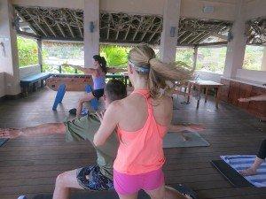 Teaching Yoga in Jamaica