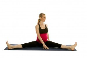 Prenatal Straddle with Twist