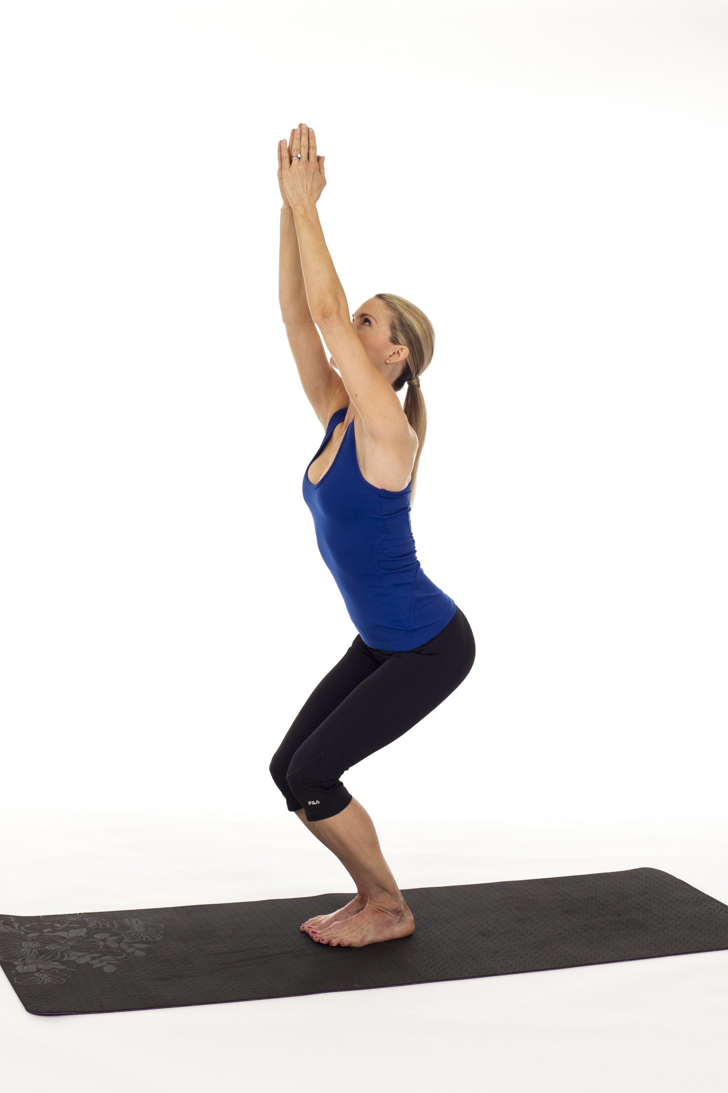 3 Yoga Moves For Swimsuit Legs Kristin Mcgee