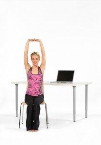 High Altar Pose Shoulder & Wrist Stretch