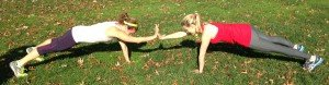 Partner Push-Up with Clap