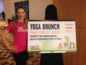yoga brunch 1