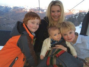 Nephews & Timothy & I on gondola